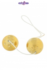 Boules de Geisha Gold Balls : Boules de geisha dorées à prix serré pour se faire plaisir sans trop dépenser.