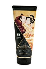 Crème de massage délectable douceur d'amande -  Shunga : Le plus savoureux des massages avec la crème de massage comestible Shunga saveur douceur d'amande.