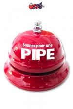 Sonnette de table - Pipe : La sonnette de réception  dédiée aux demandes très particulières!