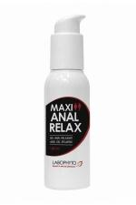 Gel Maxi anal relax : Gel anal relaxant à l'extrait d'huile de Girofle, compatible avec les préservatifs, avec effet anesthésiant et hydratant.